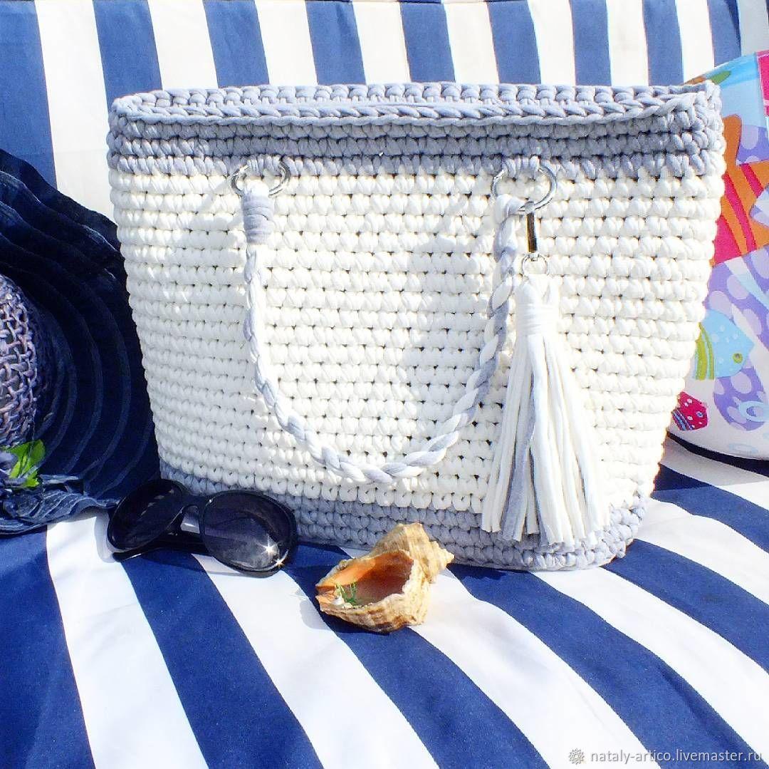 0441a3d7037f Пляжная сумка – купить в интернет-магазине на Ярмарке Мастеров с ...