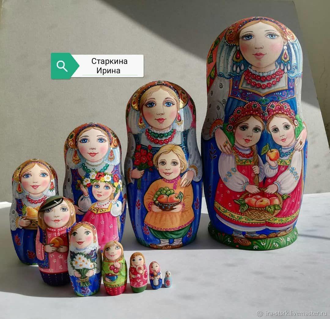 Matryoshka in pink scarf, Dolls1, Vitebsk,  Фото №1