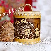 Для дома и интерьера handmade. Livemaster - original item Tuesok of birch bark