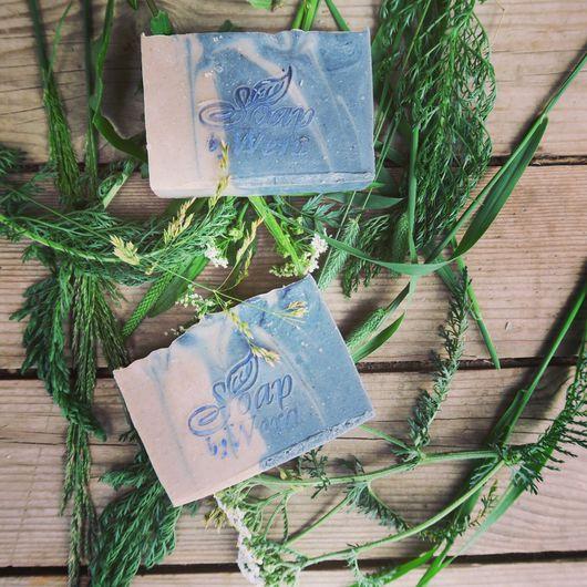 Мыло ручной работы. Ярмарка Мастеров - ручная работа. Купить Чайное дерево и гасул, натуральное мыло. Handmade. Werasoap, мылоснуля