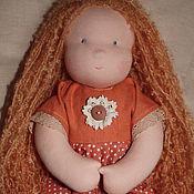 Куклы и игрушки ручной работы. Ярмарка Мастеров - ручная работа Девочка пшеничка 40 см. Handmade.