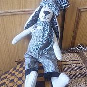 Куклы и игрушки ручной работы. Ярмарка Мастеров - ручная работа Заяц Юшка. Handmade.
