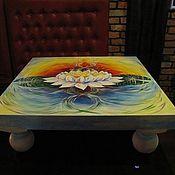 Для дома и интерьера ручной работы. Ярмарка Мастеров - ручная работа Стол Цветок Лотоса. Handmade.