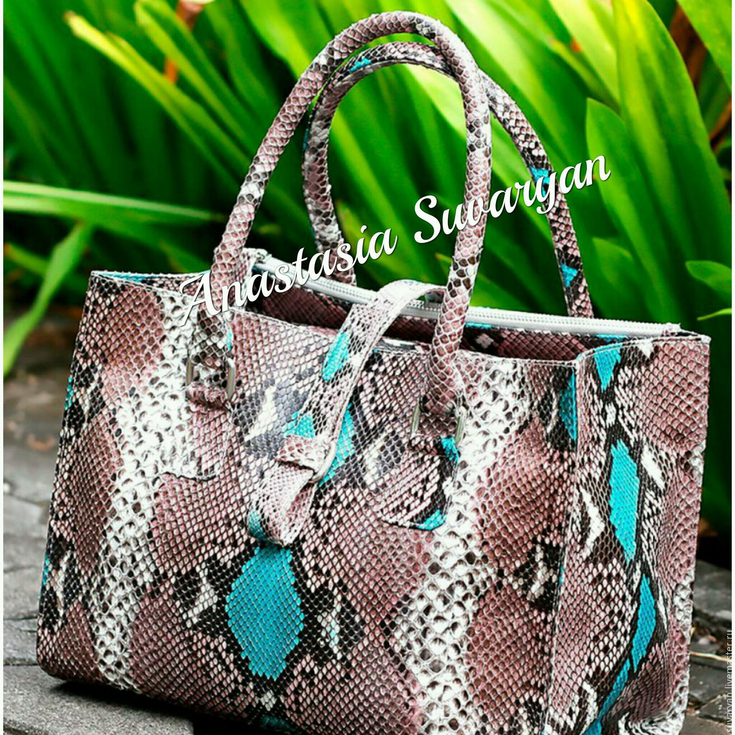 women's bag of genuine Python leather, Bags, Barnaul, Фото №1