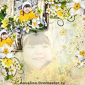 Дизайн и реклама ручной работы. Ярмарка Мастеров - ручная работа Фотокнига о ребенке. Handmade.