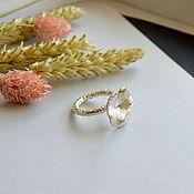Украшения handmade. Livemaster - original item Silver ring Lily. Handmade.