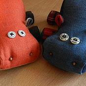 Куклы и игрушки ручной работы. Ярмарка Мастеров - ручная работа бегемотики. Handmade.