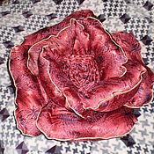 Для дома и интерьера ручной работы. Ярмарка Мастеров - ручная работа Подушка Цветок. Handmade.