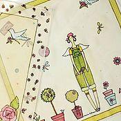 Аксессуары ручной работы. Ярмарка Мастеров - ручная работа Тильда - платочки. Handmade.