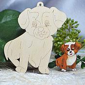 Материалы для творчества handmade. Livemaster - original item Set for painting a Puppy and a kitten. Handmade.