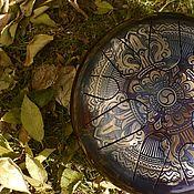 Музыкальные инструменты handmade. Livemaster - original item Vajra glucophone Steel drum, tank drum, handpan, mandala. Handmade.