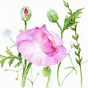 Картины и панно handmade. Livemaster - original item Watercolour