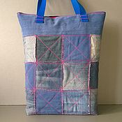 Сумки и аксессуары handmade. Livemaster - original item Ekosumki: Boro shopper bag. Handmade.