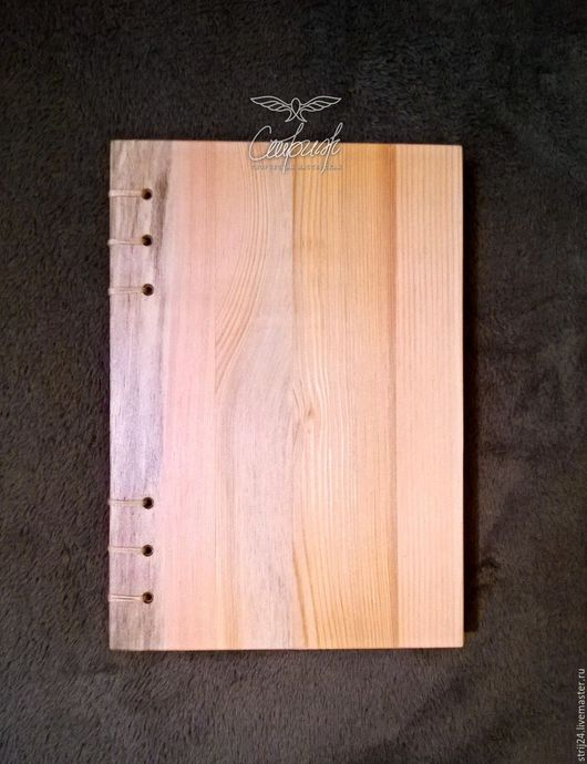 Блокноты ручной работы. Ярмарка Мастеров - ручная работа. Купить Скетчбук с деревянной обложкой. Handmade. Комбинированный, блокнот ручной работы