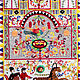 Embroidery .On motives of Russian folk painting, Tapestry, Sukhinichi,  Фото №1