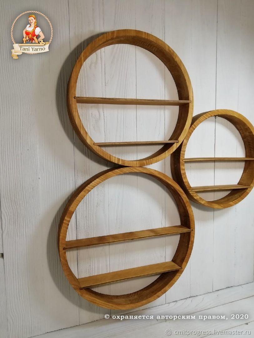 Round wooden shelf, Shelves, Dimitrovgrad,  Фото №1