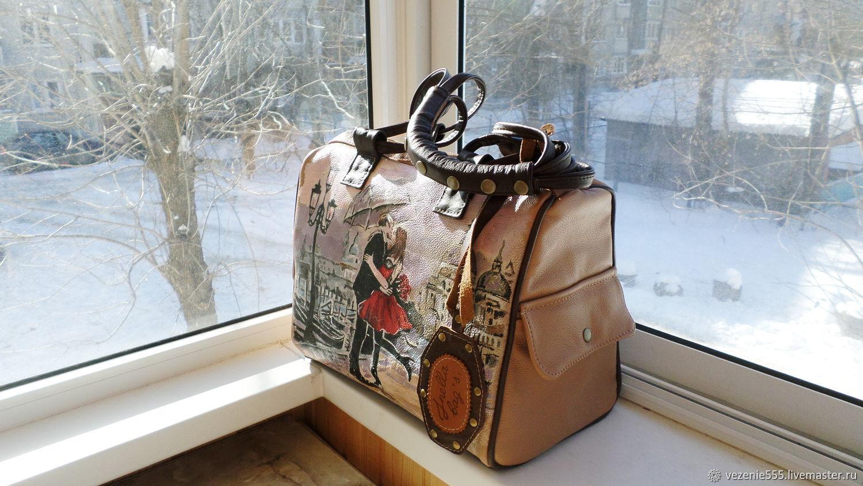 6fb3b00d0e0c ... Женские сумки ручной работы. Сумка кожаная женская с росписью на заказ  для Татьяны. Inella ...