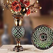 Для дома и интерьера handmade. Livemaster - original item Mosaic vase, handmade. Handmade.