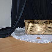 """Балдахин для кроватки ручной работы. Ярмарка Мастеров - ручная работа Черный шатер """"Жюльетта"""" для кроватки / Балдахин для детей. Handmade."""