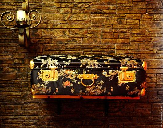 """Корзины, коробы ручной работы. Ярмарка Мастеров - ручная работа. Купить Чемодан """"Китайский шелк"""". Handmade. Китайский стиль, чемодан"""