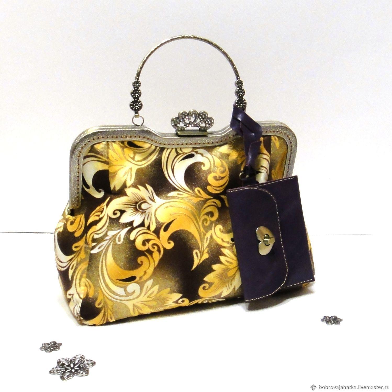 6126b8ffc1dc Женские сумки ручной работы. Ярмарка Мастеров - ручная работа. Купить  Желтая сумка кошелек женская ...