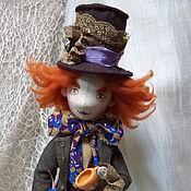 """Куклы и игрушки ручной работы. Ярмарка Мастеров - ручная работа Кукла интерьерна """"Шляпник"""". Handmade."""