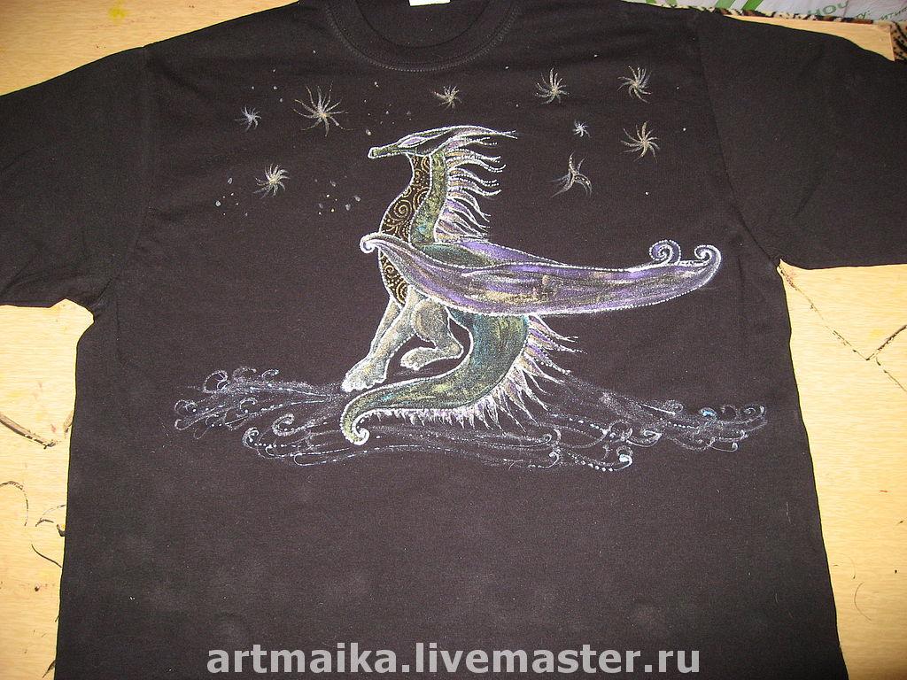 Футболка мужская Dreaming dragon, Футболки, Москва,  Фото №1