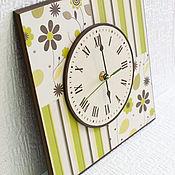 """Для дома и интерьера ручной работы. Ярмарка Мастеров - ручная работа Часы """"Делайт"""". Handmade."""
