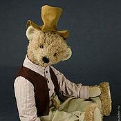 Куклы и игрушки ручной работы. Ярмарка Мастеров - ручная работа Мишка Тедди Петсон 45 см.. Handmade.