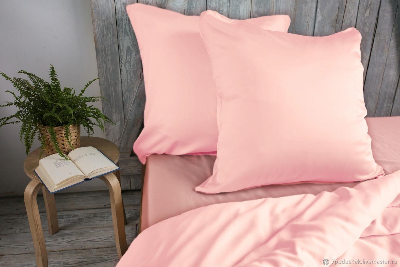 Розовый Pink тенсел розовое постельное белье, Комплекты постельного белья, Москва,  Фото №1