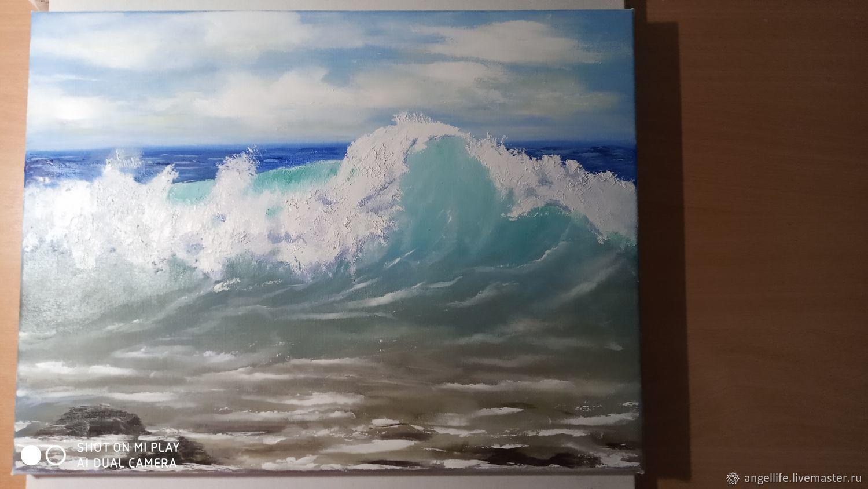 Морская волна, Картины, Симферополь,  Фото №1