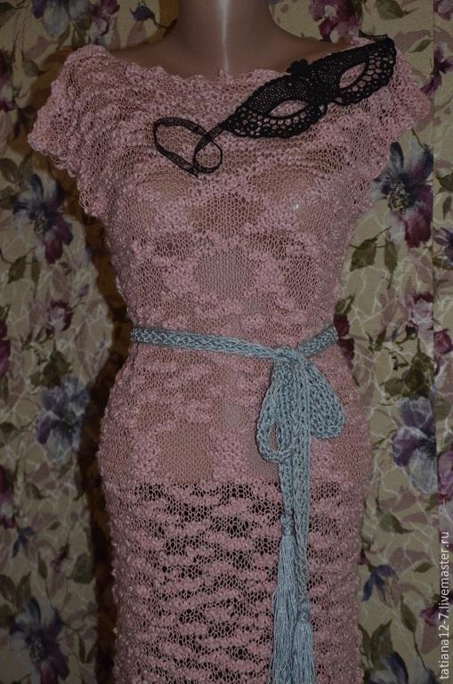 """Платья ручной работы. Ярмарка Мастеров - ручная работа. Купить """"Дикая орхидея"""" эксклюзивное платье ручной работы. Handmade. платье"""