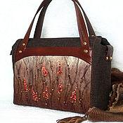 Сумки и аксессуары handmade. Livemaster - original item Bags: Red magic. Handmade.