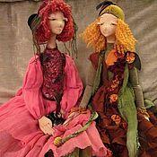 Куклы и игрушки ручной работы. Ярмарка Мастеров - ручная работа Кукла Брусника. Handmade.