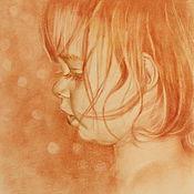 Картины и панно ручной работы. Ярмарка Мастеров - ручная работа Рыжик. Handmade.