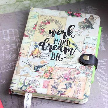Stationery handmade. Livemaster - original item Notebook Big dream. Handmade.