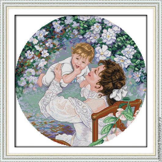 Набор для вышивания `Прогулка с малышом`
