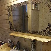Для дома и интерьера ручной работы. Ярмарка Мастеров - ручная работа Деревянная полочка. Handmade.