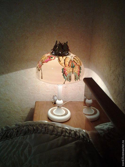 Освещение ручной работы. Ярмарка Мастеров - ручная работа. Купить плафон для настольной лампы. Handmade. Интерьер, сувениры и подарки