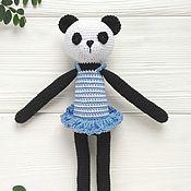 Куклы и игрушки handmade. Livemaster - original item Panda. Panda toy. Panda girl named Lily.. Handmade.