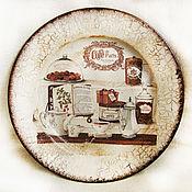 """Посуда ручной работы. Ярмарка Мастеров - ручная работа Тарелка """"Сладкий натюрморт"""". Handmade."""