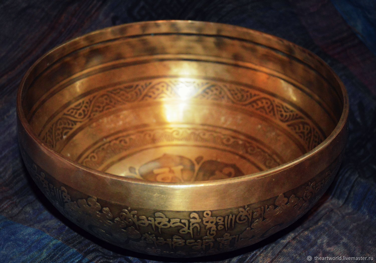 Copy of Copy of Copy of Copy of Singing bowl 20cm Tibet, Singing bowls, Moscow,  Фото №1