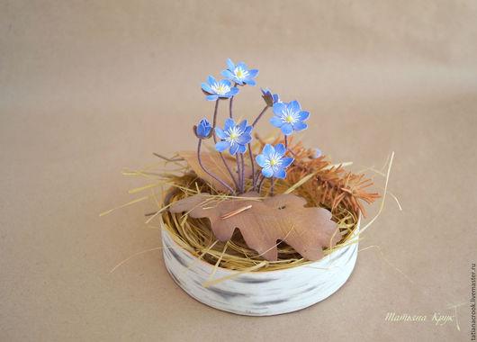 Мастер-класс по созданию миниатюрных первоцветов из фоамирана.