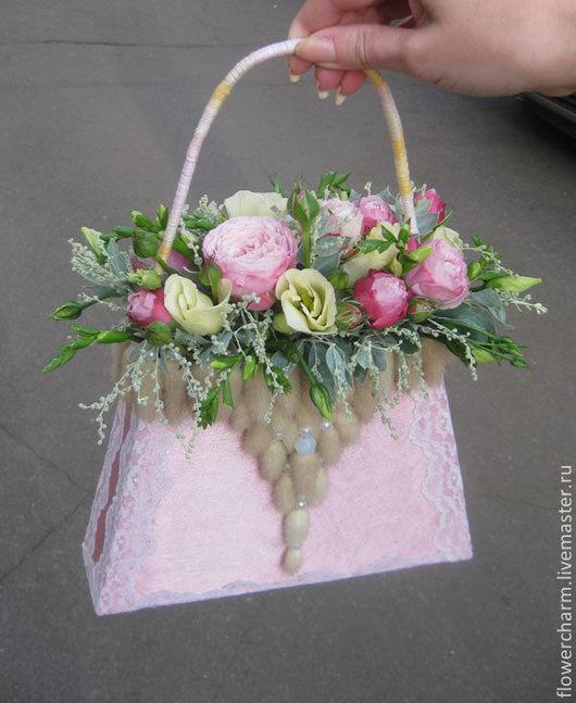 Букет невесты - сумочка
