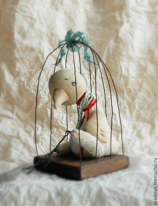 Коллекционные куклы ручной работы. Ярмарка Мастеров - ручная работа. Купить Белая ворона. Handmade. Белый, белая птичка, гранулят