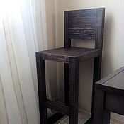 Для дома и интерьера handmade. Livemaster - original item Bar chair made of cedar loft-style Old England. Handmade.