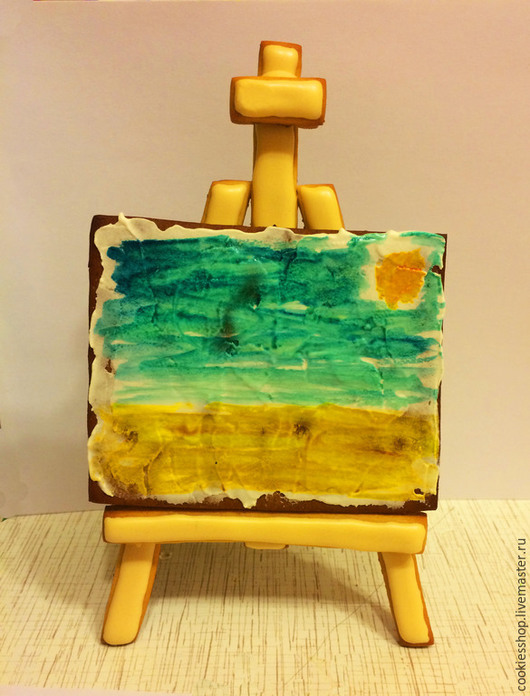 Кулинарные сувениры ручной работы. Ярмарка Мастеров - ручная работа. Купить Пряники для художника. Handmade. Разноцветный, пряник, пряники на заказ