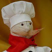 """Куклы и игрушки ручной работы. Ярмарка Мастеров - ручная работа Повар тильда """"Тот еще Перец"""". Handmade."""