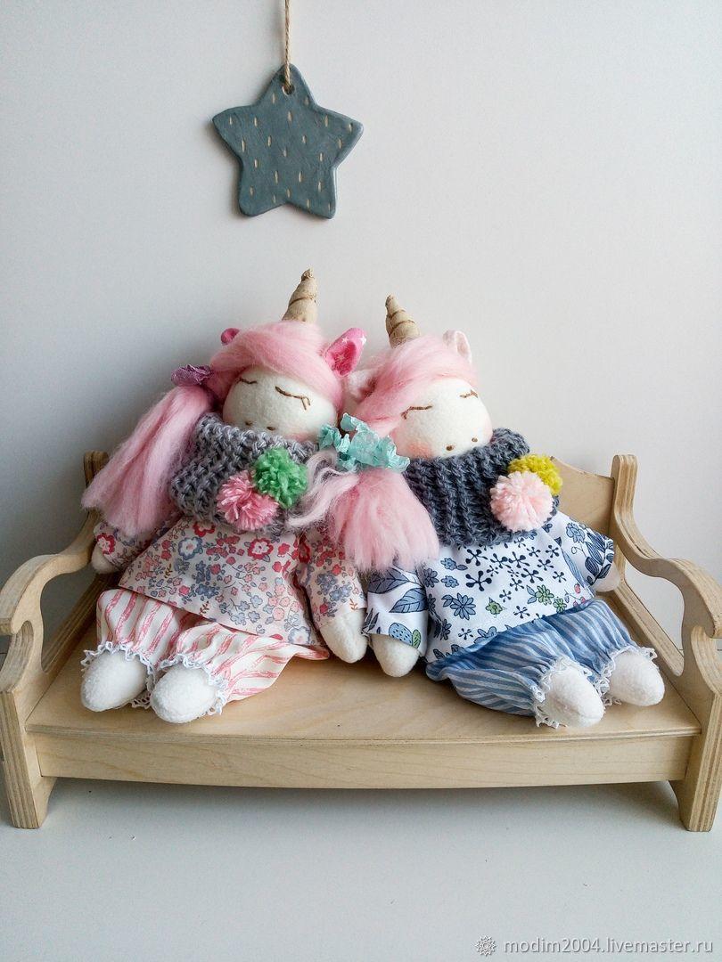 Спящий единорожек, Мягкие игрушки, Кемерово,  Фото №1