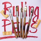 Материалы для творчества handmade. Livemaster - original item Reisfeder Ruling pen ruling pen calligraphy lettering. Handmade.